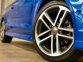 2019 Audi A3 8V MY19 35 TFSI S Tronic Blue 7 Speed Sports Automatic Dual Clutch Cabriolet