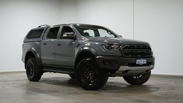 Used Ford Ranger PX MkIII 2019.00MY Raptor Welshpool, 2019 Ford Ranger PX MkIII 2019.00MY Raptor Grey 10 Speed Sports Automatic Double Cab Pick Up