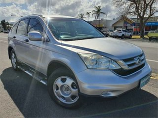 2010 Honda CR-V RE MY2010 4WD Silver 5 Speed Automatic Wagon