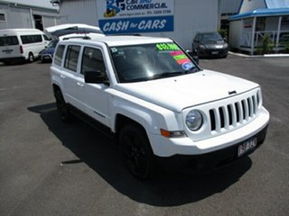 2013 Jeep Patriot BLACK HAWK White 4 Speed Automatic Wagon