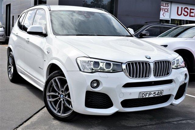Used BMW X3 F25 LCI xDrive28i Steptronic Phillip, 2016 BMW X3 F25 LCI xDrive28i Steptronic White 8 Speed Sports Automatic Wagon
