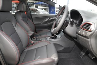 2021 Hyundai i30 PD.V4 MY22 N Line D-CT Phantom Black 7 Speed Sports Automatic Dual Clutch Hatchback