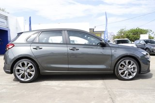 2021 Hyundai i30 PD.V4 MY22 N Line D-CT Amazon Gray 7 Speed Sports Automatic Dual Clutch Hatchback
