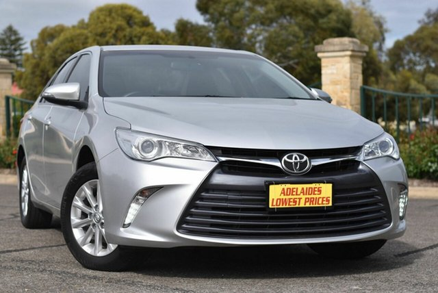 Used Toyota Camry ASV50R Altise Enfield, 2017 Toyota Camry ASV50R Altise Silver 6 Speed Sports Automatic Sedan
