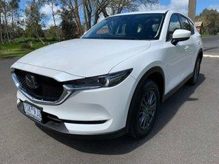 2020 Mazda CX-5 KF Series Maxx Sport White Sports Automatic Wagon.