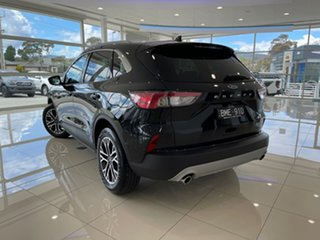 2021 Ford Escape ZH 2021.25MY Black 8 Speed Sports Automatic SUV.