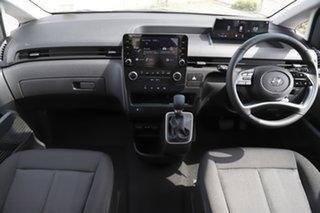 2021 Hyundai Staria US4.V1 MY22 AWD Shimmering Silver 8 Speed Sports Automatic Wagon