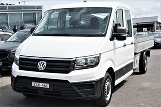 2018 Volkswagen Crafter SY1 MY18 35 LWB TDI410 Candy White 8 Speed Automatic Cab Chassis