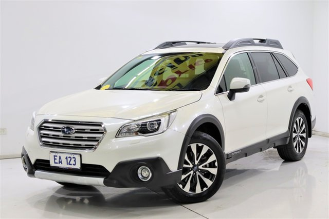 Used Subaru Outback B6A MY17 2.5i CVT AWD Premium Brooklyn, 2017 Subaru Outback B6A MY17 2.5i CVT AWD Premium White 6 Speed Constant Variable Wagon