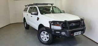 2018 Ford Ranger PX MkII 2018.00MY XLS Double Cab White 6 Speed Manual Utility.
