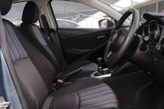 2015 Mazda 2 DJ2HA6 Neo SKYACTIV-MT Gunmetal Blue 6 Speed Manual Hatchback