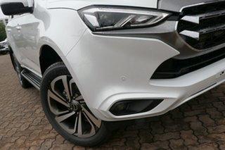 2021 Isuzu MU-X RJ MY21 LS-T (4x2) Moonstone White 6 Speed Auto SEQ Sports Mode Wagon.