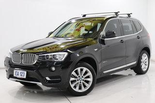 2015 BMW X3 F25 LCI xDrive20i Steptronic Black 8 Speed Automatic Wagon.