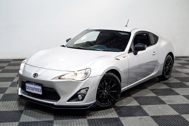 Used Toyota 86 ZN6 GT Edgewater, 2013 Toyota 86 ZN6 GT Silver 6 Speed Manual Coupe