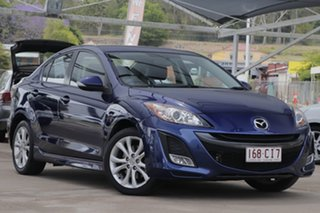 2011 Mazda 3 BL10L1 MY10 SP25 Activematic Indigo 5 Speed Sports Automatic Sedan.