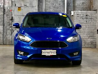 2017 Ford Focus LZ Sport Blue 6 Speed Automatic Hatchback.