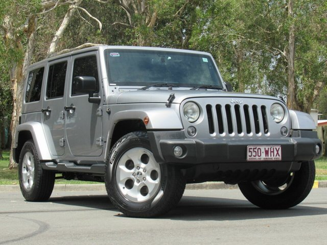 Used Jeep Wrangler JK MY2016 Unlimited Overland, 2015 Jeep Wrangler JK MY2016 Unlimited Overland Silver 5 Speed Automatic Hardtop