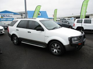 2007 Ford Territory SR White 4 Speed Automatic Wagon
