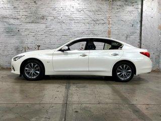 2016 Infiniti Q50 V37 GT White 7 Speed Sports Automatic Sedan