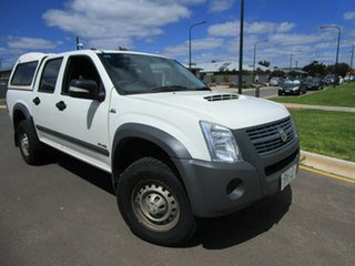 2008 Holden Rodeo RA MY08 LX (4x4) White 4 Speed Automatic Crew Cab Pickup.