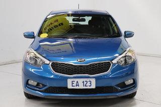 2014 Kia Cerato YD MY14 S Blue 6 Speed Manual Hatchback.