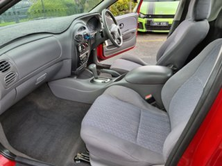 2001 Ford Falcon AU II XL Super Cab Red 4 Speed Automatic Cab Chassis