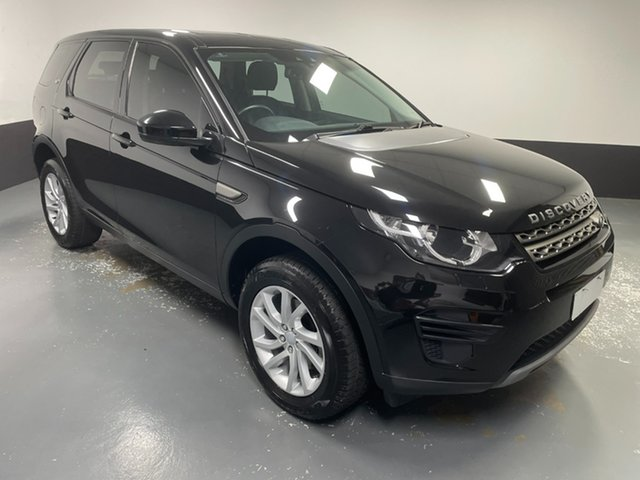 Used Land Rover Discovery Sport L550 17MY TD4 150 SE Newcastle West, 2017 Land Rover Discovery Sport L550 17MY TD4 150 SE Ultimate Black 9 Speed Sports Automatic Wagon