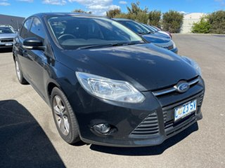 2012 Ford Focus LW Trend PwrShift Black 6 Speed Sports Automatic Dual Clutch Hatchback.