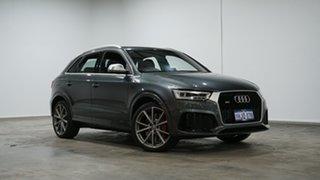 2015 Audi RS Q3 8U MY16 S Tronic Quattro Grey 7 Speed Sports Automatic Dual Clutch Wagon.