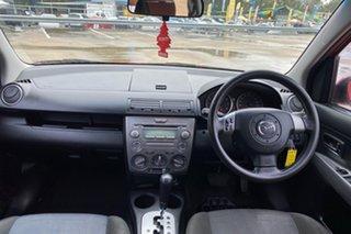 2006 Mazda 2 DY MY05 Upgrade Genki Red 4 Speed Auto Activematic Hatchback