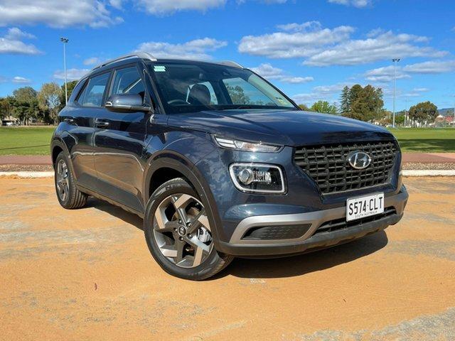 Demo Hyundai Venue QX.V3 MY21 Active Nailsworth, 2021 Hyundai Venue QX.V3 MY21 Active The Denim 6 Speed Automatic Wagon