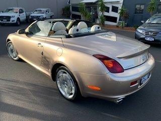 2005 Lexus SC UZZ40R MY06 SC430 Gold 6 Speed Sports Automatic Convertible.