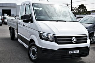 2018 Volkswagen Crafter SY1 MY18 35 LWB TDI410 Candy White 8 Speed Automatic Cab Chassis.