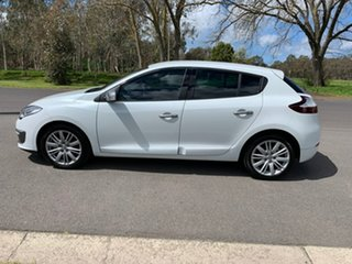 2016 Renault Megane III B95 Phase 2 GT-Line White Sports Automatic Dual Clutch Hatchback