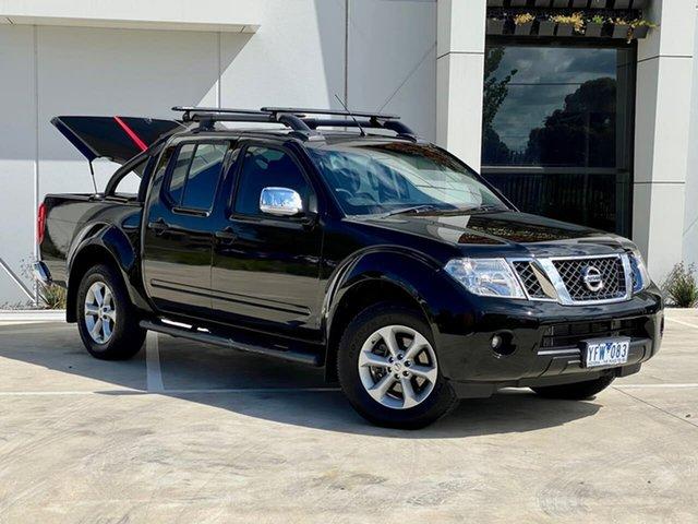 Used Nissan Navara D40 MY11 ST-X 550 Thomastown, 2011 Nissan Navara D40 MY11 ST-X 550 Black 7 Speed Sports Automatic Utility