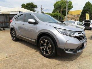 2018 Honda CR-V MY18 VTi-S (AWD) Silver Continuous Variable Wagon.