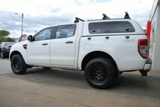 2014 Ford Ranger PX XL 3.2 (4x4) White 6 Speed Automatic Double Cab Pick Up.