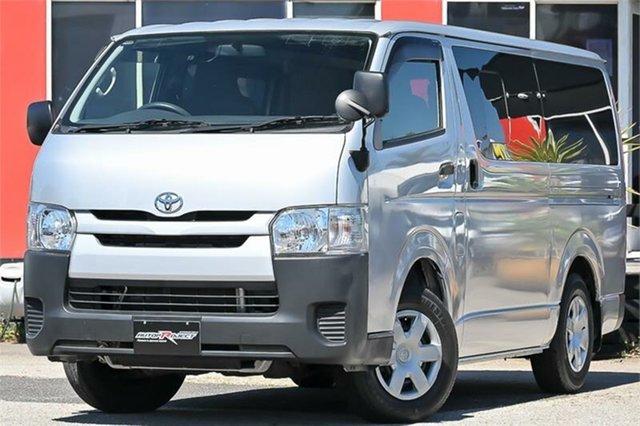 Used Toyota HiAce KDH201R Cheltenham, 2015 Toyota HiAce KDH201R Silver 4 Speed Automatic Van