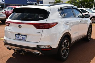 2020 Kia Sportage QL MY20 GT-Line AWD Snow White Pearl 8 Speed Sports Automatic Wagon