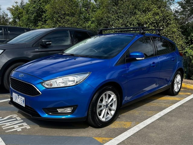 Used Ford Focus LZ Trend Berwick, 2017 Ford Focus LZ Trend Blue 6 Speed Automatic Hatchback