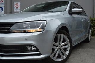 2014 Volkswagen Jetta 1B MY14 118TSI DSG Highline Silver, Chrome 7 Speed