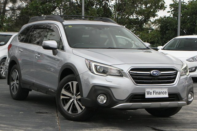 Used Subaru Outback B6A MY18 2.5i CVT AWD Premium North Lakes, 2018 Subaru Outback B6A MY18 2.5i CVT AWD Premium Silver 7 Speed Constant Variable Wagon
