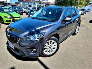 2013 Mazda CX-5 KE1031 MY14 Grand Touring SKYACTIV-Drive AWD Grey 6 Speed Sports Automatic Wagon.