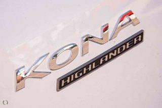 2021 Hyundai Kona Os.v4 MY21 electric Highlander Atlas White & Black Roof 1 Speed Reduction Gear