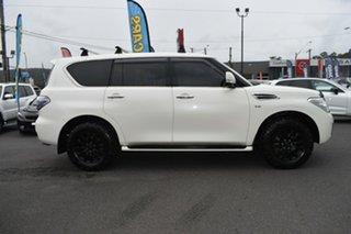 2019 Nissan Patrol Y62 Series 4 TI-L White 7 Speed Sports Automatic Wagon.
