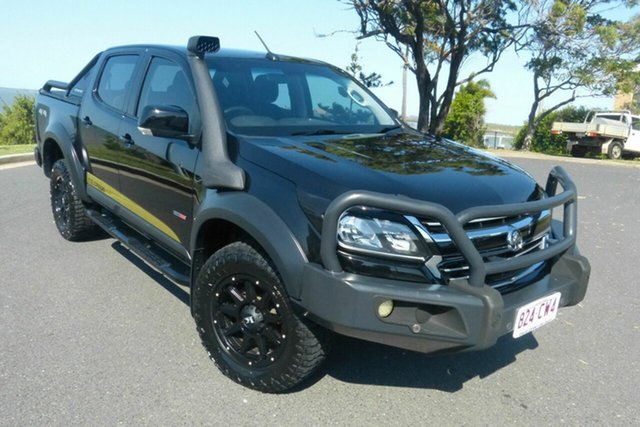 Used Holden Colorado RG MY18 LS Pickup Crew Cab Gladstone, 2018 Holden Colorado RG MY18 LS Pickup Crew Cab Black 6 Speed Sports Automatic Utility