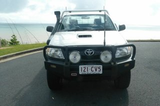 2008 Toyota Hilux KUN26R MY09 SR Silver 5 Speed Manual Cab Chassis
