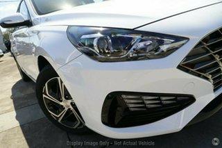 2021 Hyundai i30 PD.V4 MY22 Polar White 6 Speed Sports Automatic Hatchback.