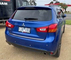 2015 Mitsubishi ASX XB MY15.5 LS Blue Continuous Variable Transmission Wagon
