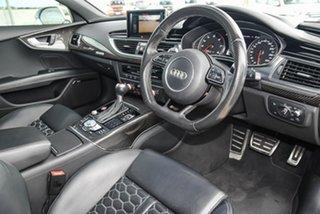 2015 Audi RS 7 4G MY15 Sportback Tiptronic Quattro White 8 Speed Sports Automatic Hatchback